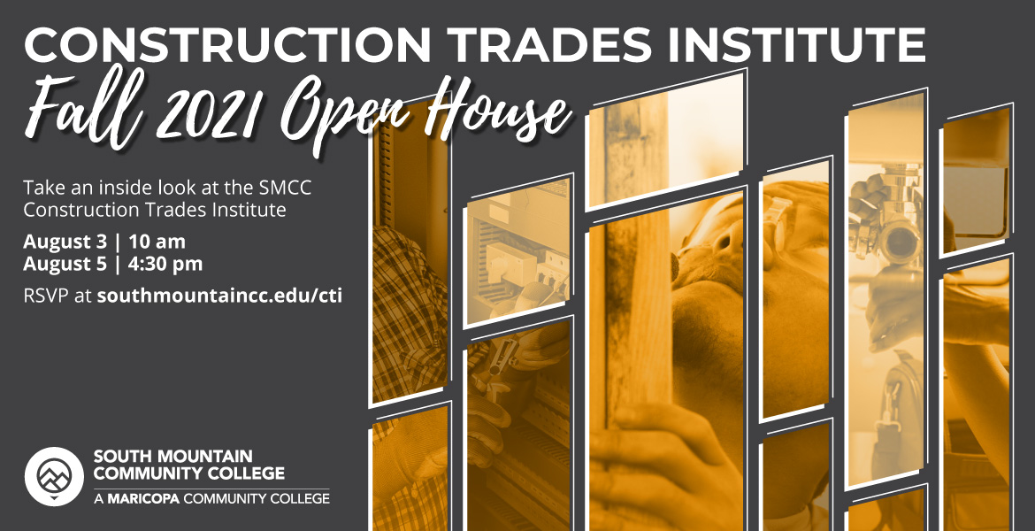 Construction Trades Institute Open House Fall 2021