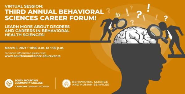 Third Annual Behavioral Sciences Career Forum!