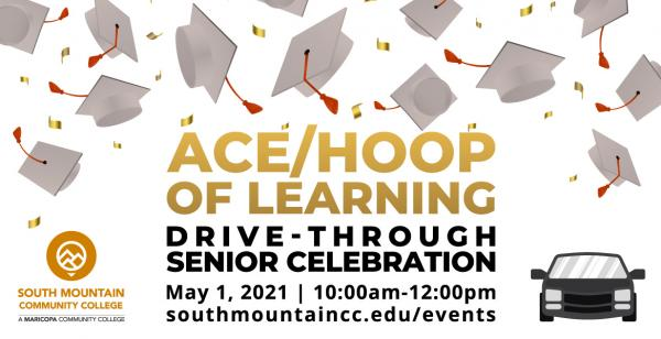 ACE and Hoop of Learning Drive-Through Celebration