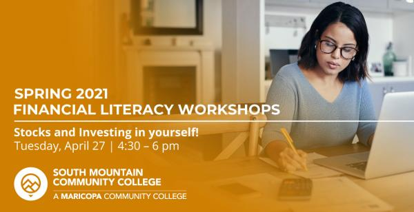 The Spring 2021 SMCC Financial Literacy Workshops present: