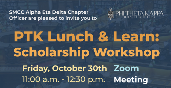 PTK Lunch and Learn: Scholarships