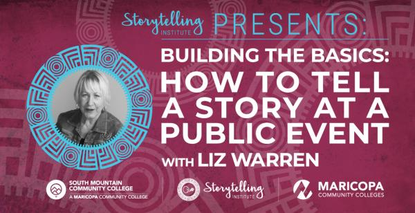 Building the Basics: How to Tell a Story at a Public Event