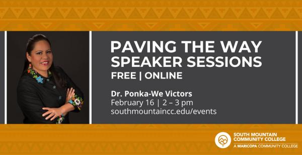 Paving the Way Speaker Sessions | Dr. Ponka-We Victors