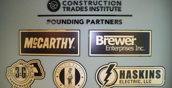 McCarthy Building Companies Donates $12,500 to SMCC Construction Trades Institute